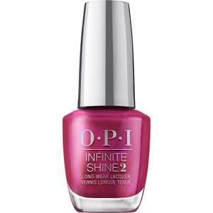 OPI Infinite Shine Merry in Cranberry Nail Varnish 15ml