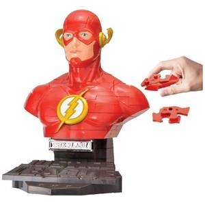 DC Comics The Flash 72 Piece 3D Jigsaw Puzzle