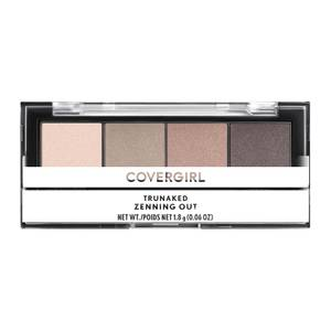 COVERGIRL TruNaked Quad Eye Shadow Palette - Zenning Out 9 oz