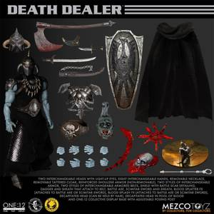 Mezco One:12 Collective Frank Frazetta's Death Dealer Limited Edition Figure Set