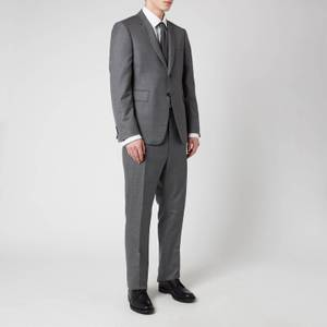 Thom Browne Men's Classic Twill Super 120 Suit - Medium Grey
