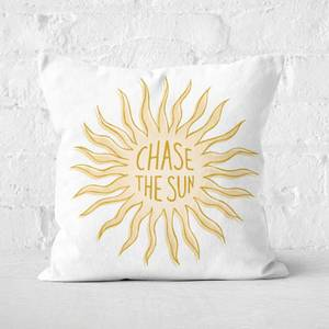 Chase The Sun Square Cushion