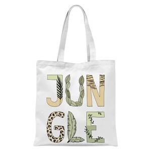 Jungle Tote Bag - White