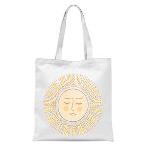Sunny Side Up Tote Bag - White
