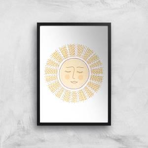Sunny Side Up Giclee Art Print