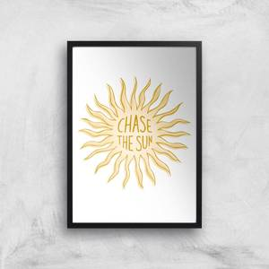 Chase The Sun Giclee Art Print