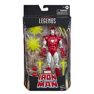 Hasbro Marvel Legends Iron Man Silver Centurion Action Figure