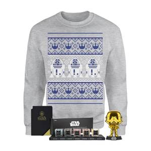 Star Wars Officially Licensed MEGA Christmas Gift Set - Includes Christmas Sweatshirt plus 3 gifts