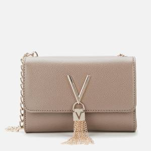 Valentino Bags Women's Divina Small Shoulder Bag - Brown