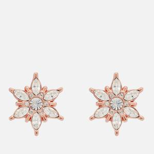 Olivia Burton Women's Ice Queen Snowflake Studs - Rose Gold