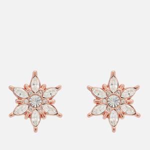 Olivia Burton Women's Ice Queen Snowflake Studs - Rose Gold
