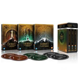 Trilogie Le Hobbit - Collection Steelbook 4K Ultra HD Edition Limitée