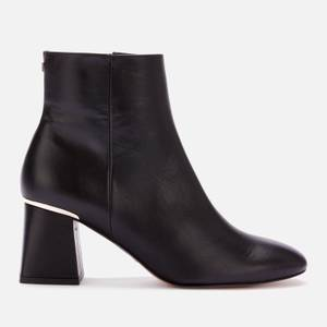 Ted Baker Women's Squarel Square Toe Block Heel Boots - Black