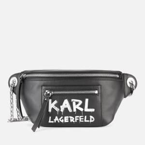 KARL LAGERFELD Women's K/Soho Graffiti Bumbag - Black/White