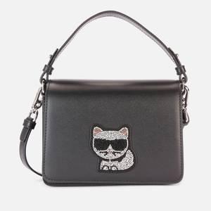 Karl Lagerfeld Women's K/Choupette Small Top Handle - Black