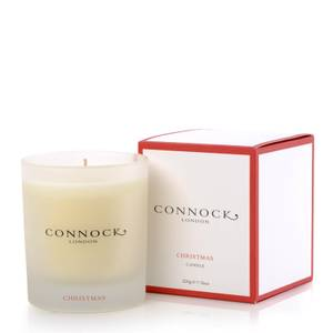 Connock London Christmas Candle 220g