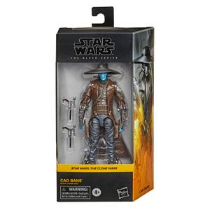 Figurine de Collection  Cad Bane - Hasbro Star Wars The Black Series Clone Wars