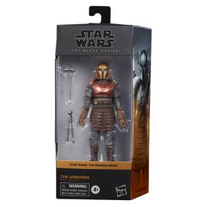 Hasbro Star Wars The Mandalorian Black Series Armorer Action Figure