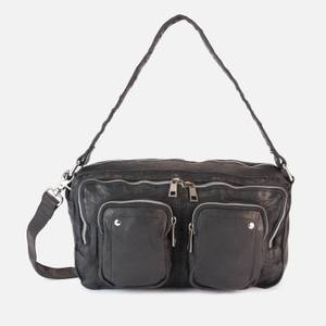 Núnoo Women's Alimakka Washed Shoulder Bag - Black