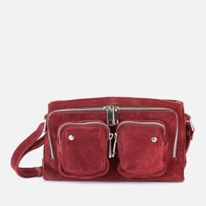 Núnoo Women's Stine New Suede Cross Body Bag - Rasberry