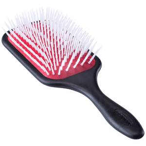 Denman D38 Power Paddle Brush - Red/Black