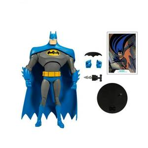 "McFarlane DC Animated 7"" Wave 1 - Batman Blue/Gray Variant Action Figure"