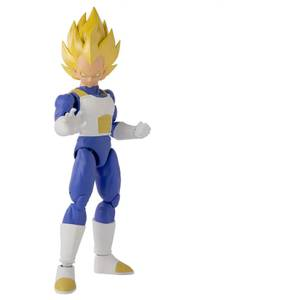 Bandai Dragon Stars DBZ Super Saiyan Vegeta Version 2 Action Figure