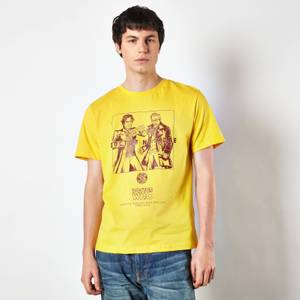 Doctor Who Eighth Doctor US EXCLUSIVE Unisex T-Shirt - Yellow