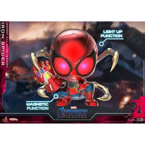 Hot Toys Cosbaby Marvel Avengers: Endgame - Iron Spider (Instant Kill Mode Version) Figure