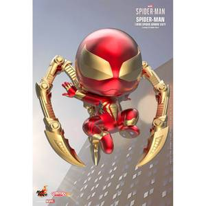 Hot Toys Cosbaby Marvel's Spider-Man PS4 - Spider-Man (Iron Spider Armor Suit Version) Figure