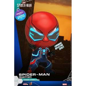 Hot Toys Cosbaby Marvel's Spider-Man PS4 - Spider-Man (Velocity Suit Version) Figure