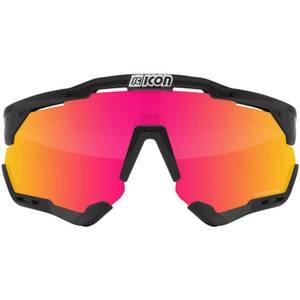 Scicon Aeroshade XL Road Sunglasses - Black Gloss