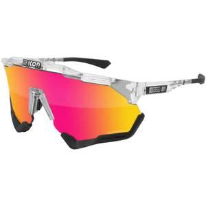 Scicon Aeroshade Road Sunglasses - Crystal Gloss