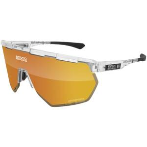 Scicon Aerowing Road Sunglasses - Crystal Gloss/SCNPP Multimirror Bronze