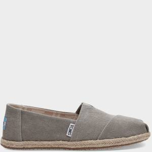 TOMS Women's Alpargata Rope Slip-On Pumps - Grey
