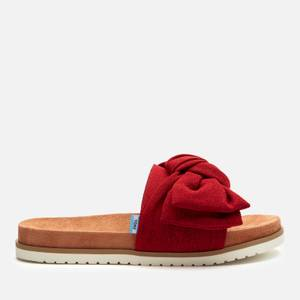 TOMS Women's Paradise Sandals - Red