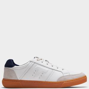 TOMS Men's Leandro Low Top Trainers - White