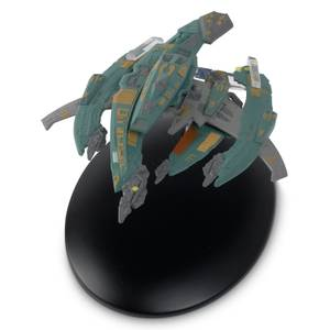 Eaglemoss Star Trek Die Cast Ship Replica - Breen Warship Starship Model