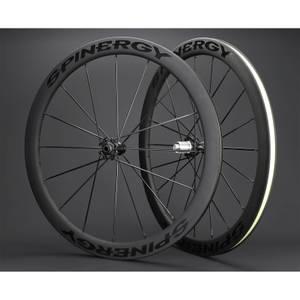 Spinergy Stealth FCC 4.7 Carbon Clincher Disc Wheelset