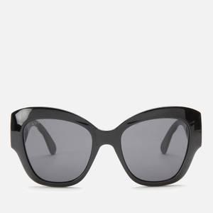 Gucci Women's Cat Eye Sunglasses - Black/Grey