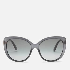 Gucci Women's Cat Eye Sunglasses - Grey