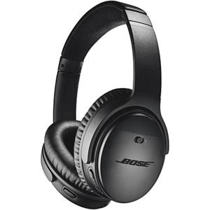 Bose QuietComfort 35 (Series II) Wireless Headphones, Noise Cancelling with Alexa Built-In - Black