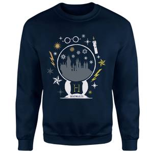 Harry Potter Hogwarts Sweatshirt - Navy