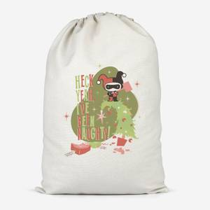The Joker Heck Yeah I've Been Naughty Cotton Storage Bag