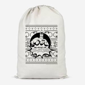 Batman Be Good Or Ka Boom! Cotton Storage Bag