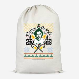 Elf Ninny Muggins Cotton Storage Bag