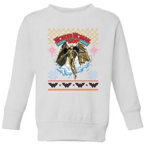Wonder Women 1984 Kids' Sweatshirt - White