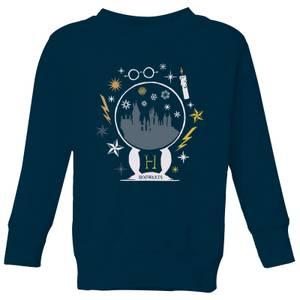 Harry Potter Hogwarts Kids' Sweatshirt - Navy