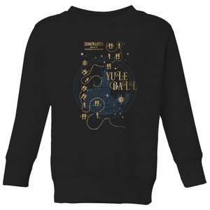 Harry Potter Hogwarts Yule Ball Kids' Sweatshirt - Black