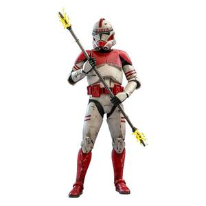 Hot Toys Star Wars The Clone Wars Action Figure 1/6 Coruscant Guard 30 cm